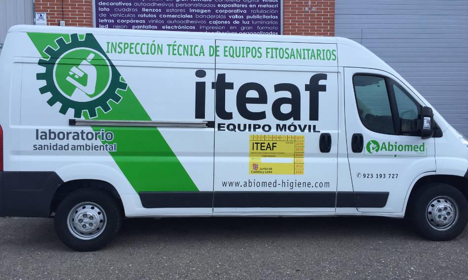 Furgoneta Iteaf Abiomed-Higiene