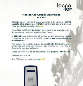 Caudalimetro SCF300